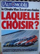L'AUTOMOBILE 1978 RONNIE PETERSON / FORMULE 1 / JARIER / TOUR AUTO /CITROEN VISA