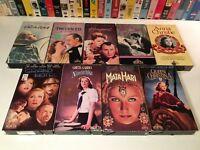Greta Garbo VHS Lot of 9 Grand Hotel Ninotchka Camille Mata Hari Painted Veil +