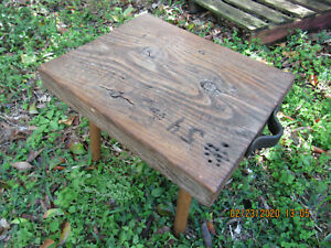 Honest, TRUE Vintage ~Three Legged Milking Stool~American Primitive-Farm-Ranch