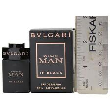 Bvlgari Man In Black by Bvlgari Eau de Parfum .17 oz Mini
