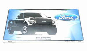 Ford Truck F-150 Badge Metal License Plate Sign Tag