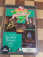 VINTAGE CAPSTONE DONALD TRUMP CASTLE ULTIMATE CASINO GAMBLING SIMULATION IBM PC