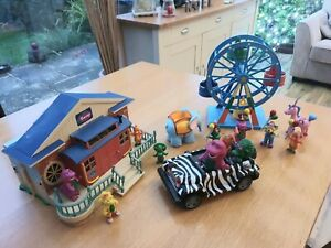Barney The Dinosaur  Playsets With Extras - Vintage Rare Bundle