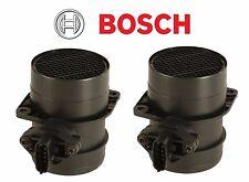 For Porsche 911 Cayenne Turbo 07-13 Set of 2 Air Mass Sensors Bosch 99760612500