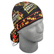 MGD Miller Genuine Draft Beer Star Black Orange Biker Doo Rag Headwrap Skull Cap