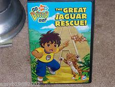 Nick Jr. Go, Diego, Go! - The Great Jaguar Rescue! (DVD, 2007) EUC