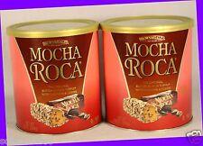 2 Brown & Haley MOCHA ROCA Buttercrunch Toffee Coffee Cashews Chocolate Candy