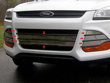 2013 2014 2015 2016 FORD ESCAPE 8PC STAINLESS STEEL GRILLE ACCENT TRIM