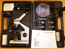 Biological Microscope with Digital Eyepiece & Free Extras in Carrying Case, Sale