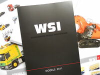 WSI CONRAD NZG CATALOGUE 2011