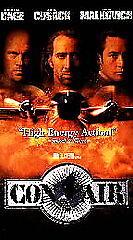 Con Air (VHS, 1997) Rare Full Length Screening Copy