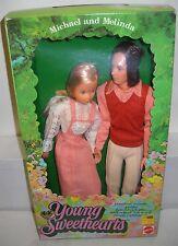 #5940 NRFB Vintage Mattel Young Sweethearts Michael & Melinda Dolls Set