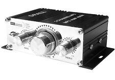 Mini Stereo Endstufe 12V Verstärker MP3 PC Notebook CD DVD KFZ Camping Amplifier