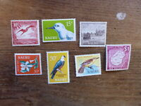 NAURU 1966 LOCAL MOTIVE SET 7 MINT STAMPS #2