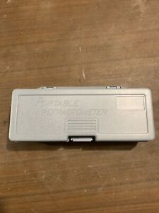 Portable Refractometer w/ Calibration Fluid (Bulk Reef Supply Kit)