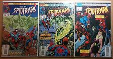 Vintage Marvel Comics Spiderman Smoke and Mirrors Lot of 3 #122 #399 #56
