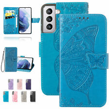 Butterfly Luxury Leather Wallet Case For Samsung Note20 10 S20 21 30 Ultra S10+
