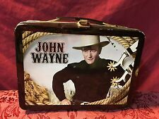 Vintage John Wayne - The Duke Tin Lunchbox (Dented In Some Spots) SHIPS NOW!