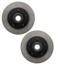 Pair Set of 2 Front C-Tek Brake Disc Rotors For Ford Ranger Mazda B4000 RWD