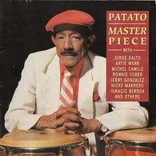 Patato Valdes Master Piece (Adios Pampa Mia, Cute, Comelon) 1993 Messidor CD