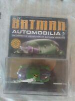 New Batman Automobilia #17 Batmobile Jokermobile DC Batman #37 Eaglemoss Diecast