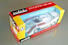 Voiture SOLIDO PORSCHE 917/10 TC CAN AM boite d'origine Réf 18 Années 1973