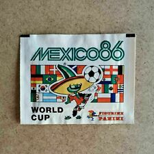Panini Mexico 86 sealed (full) packet - horizontal back - mint condition