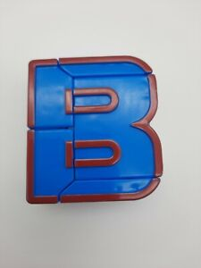 """Lakeshore Alpha Bots Replacement Letter  """"B""""  Transforms to Robot"""