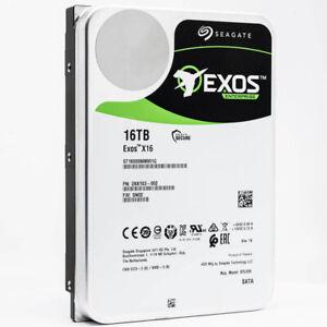 """Seagate Exos X16 16TB SATA 6Gb/s 3.5"""" Enterprise Helium HDD (ST16000NM001G)"""