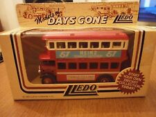 Lledo Days Gone Promotional AEC Double Deck bus with Heinz Ketchup Decals