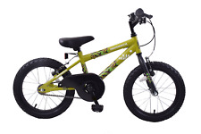 "SAS Army 16"" Wheel Boys Kids Mountain Bike Single Speed Green Camouflage Age 5+"
