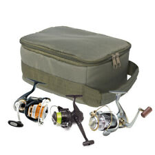 Outdoor Fishing Reel Storage Bag Fly Tackle Gear Lure Line Organizer Handbag