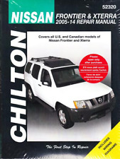 2005-2014 Nissan Frontier Xterra Chilton Haynes Repair Service Shop Manual 238X