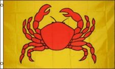 3X5 CRAB FLAG CRABS FLAGS SIGN BANNER SEAFOOD NEW F616