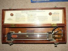 MILITARY TESTER, FLOW Mk 5a 6c/475 ROTAMETER IN FITTED WOODEN BOX. 1943