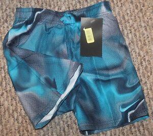 New! Boys Nike Amp Axis Breaker Trunks/Boardies (Swim Shorts) - Sizes 4, 5, 6