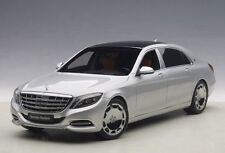 AUTOART MERCEDES BENZ MAYBACH S CLASS S600 SILVER 1:18 *New Item!