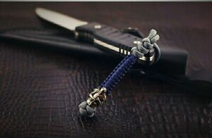 """550 Paracord Knife Lanyard """" Knight"""" multi color"""