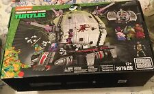 teenage mutant ninja turtles Mega Bloks Technodrome 2976 pieces collector series