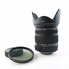 Für Nikon Sigma DC 18-125mm  1:3.8-5.6 DC OS HSM Objektiv lens + hood