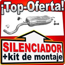 Silenciador Trasero AUDI SEAT VW 1.8T 1.9 TDI 2.0 2.3GTi 1996-2010 Escape YYA