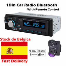 Autoradio radio de coche Stereo MP3 Player USB SD AUX 1 DIN FM Audio Bluetooth