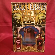 *1st Ed., 1st Print* UK Edition  A Clash of Kings, George R.R. Martin, 1998, TPB
