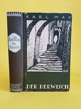 Karl May Der Derwisch Verlag Radebeul Carl Lindeberg 21. - 40. Tsd.