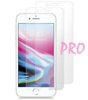 2x Tempered Glass iPhone 6 6s 7 8 Screen Protector PRO Film By ASAHI JAPAN!