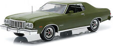 1:18 Artisan Collection 1976 Ford Gran Torino Dark Green Metallic #19018