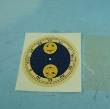 DUTCH CLOCK PART DECAL MOON DISC DUTCH CLOCK