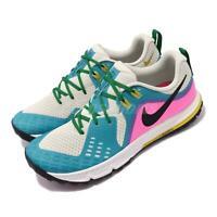 Nike Air Zoom Wildhorse 5 Beige Blue Fury Pink Green Men Running Shoe AQ2222-100