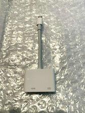 Apple Lightning to Digital AV HDMI Adapter for iPhone iPad MD826AM/A - Open Box