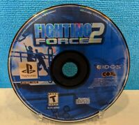 Fighting Force 2 (Sony PlayStation 1, 1999) Disc Only - Tested & Working